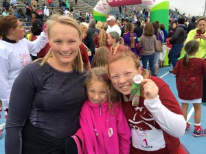 Girls run for empowerment and fun at Palencia Elementary