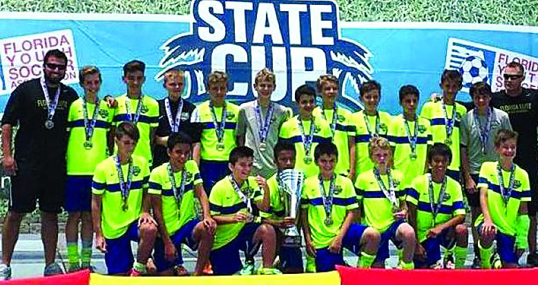 TCL U13 boys FL Elite Soccer 1608