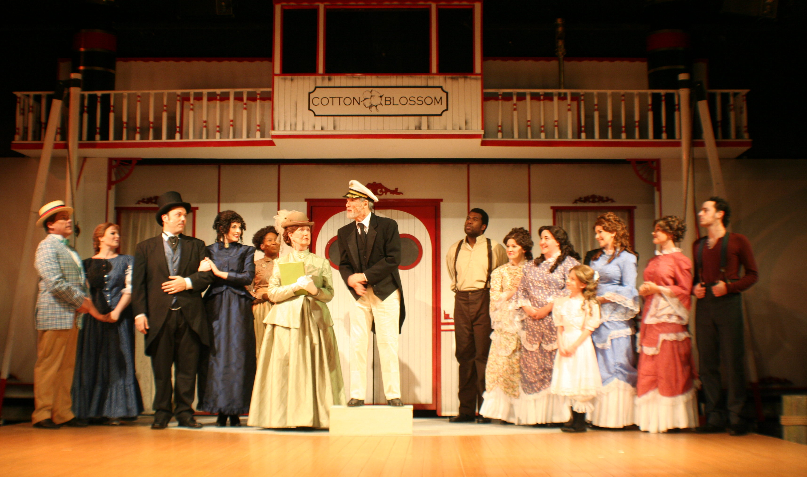 Show Boat rolls along at the Alhambra