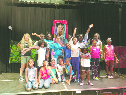 Camp Fixel introduces musical theater to young students