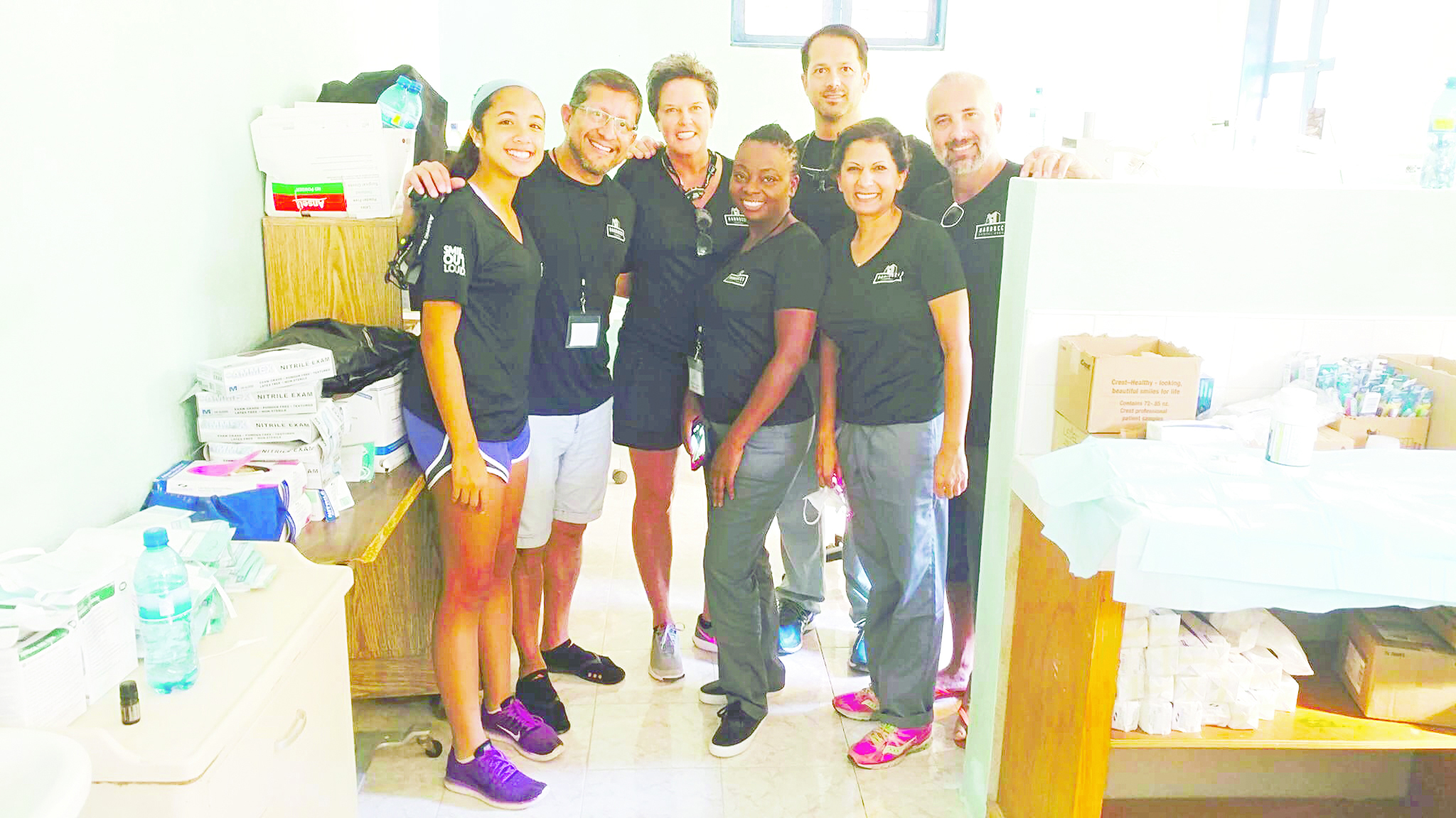 Local dental group helps with oral health in Haiti