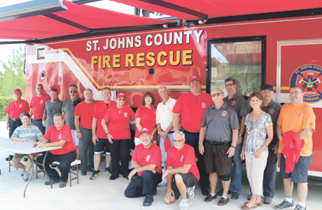 2nd Alarmers mark three years of assistance to St. Johns County Fire Rescue