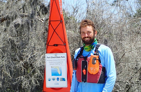 Kayaking around Florida (and contributing to a good cause)