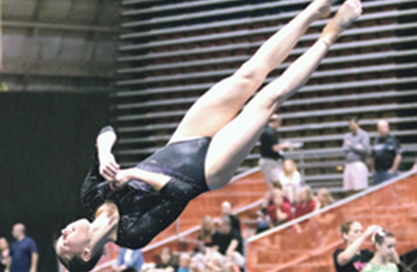 Local gymnast goes to Nationals