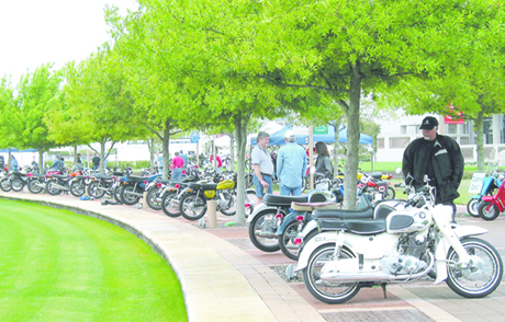 20th annual Riding into History motorcycle show is gearing up