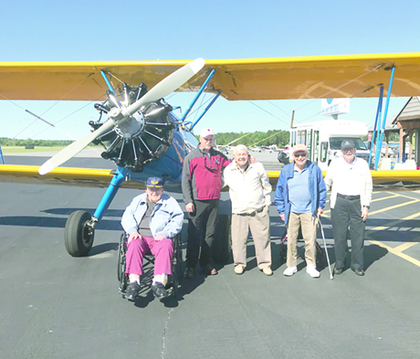 Local seniors soar in WWII biplanes