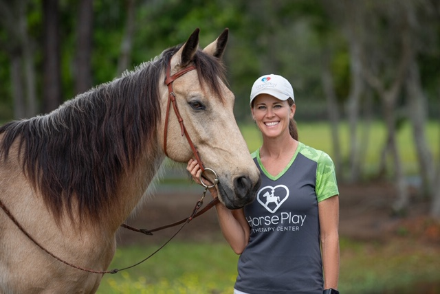 Horseplay provides hippotherapy for kids
