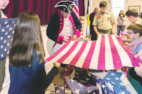 Flag retirement ceremony to be held in Mandarin