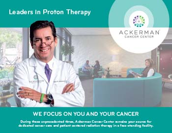 Ackerman Cancer center, Leaders in proton therapy