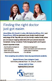 Finding the right doctor just got easier, Dr. Levine Baptist primary care