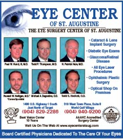 Eye center of st augustine, The eye surgery Center of St Augustine
