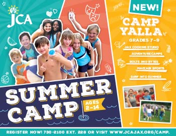 New! Camp Yalla Summer Camp grades 7-9