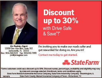 DIscount up to 30% Jim Register state farm agent
