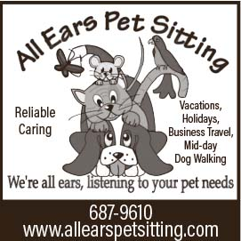 All ears pet sitting