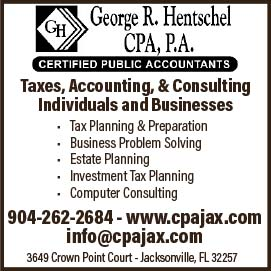 George R. Hentshcel CPA, P.A. Taxes, Accounting, & Consulting
