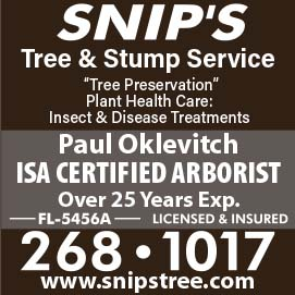 Snip's Tree and stump service over 25 years experience