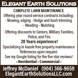 Ellegant earth solutions complete lawn maintenance with 28 years experience