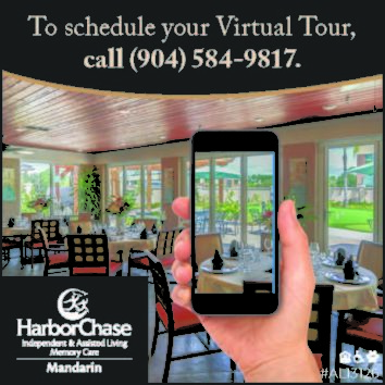 HarborChase independent & assisted living Memory Care Mandarin, call to schedule your virtual tour