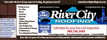 River City Roofing call today for your free roof inspection