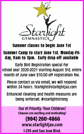 Starlight Gymnastics! Our #1 priority is your children!