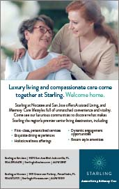 Luxury living and compassionate care come together at starling. Welcome Home.