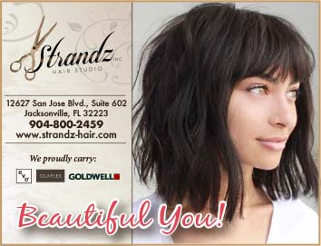 Strandz hair studio. For a beautiful new you!