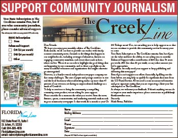 Support Community Journalism The Creek Line