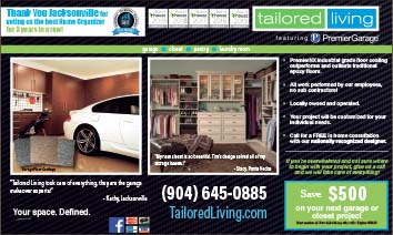 Tailored living Premier Garage solutions