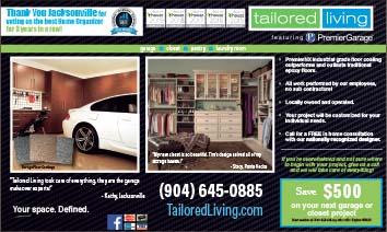 Tailored living Premier Garage solutions