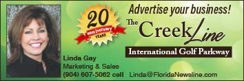 Advertise your business in The CreekLine!
