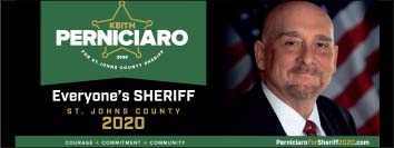 Keith Perniciaro for St Johns Sheriff