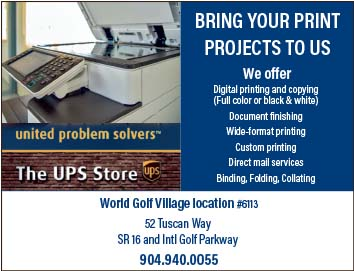 Bring your print projects to us! The UPS Store