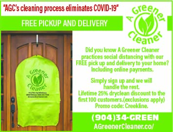 A Green Cleaner, Free pickup and delivery to your home!