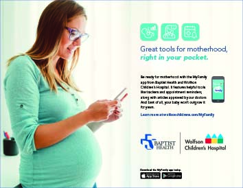 Baptist Health, Great tools for motherhood