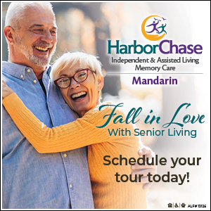 Fall in love with senior living at Harbor Chase Mandarin! Schedule your tour today