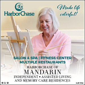 Harbor Chase of Mandarin! Independent, Assisted Living and memory care residences!