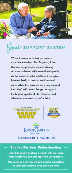 River Garden Senior Services, However and whenever you need us we're here