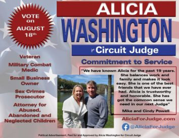 Alicia Washington for Circuit Judge