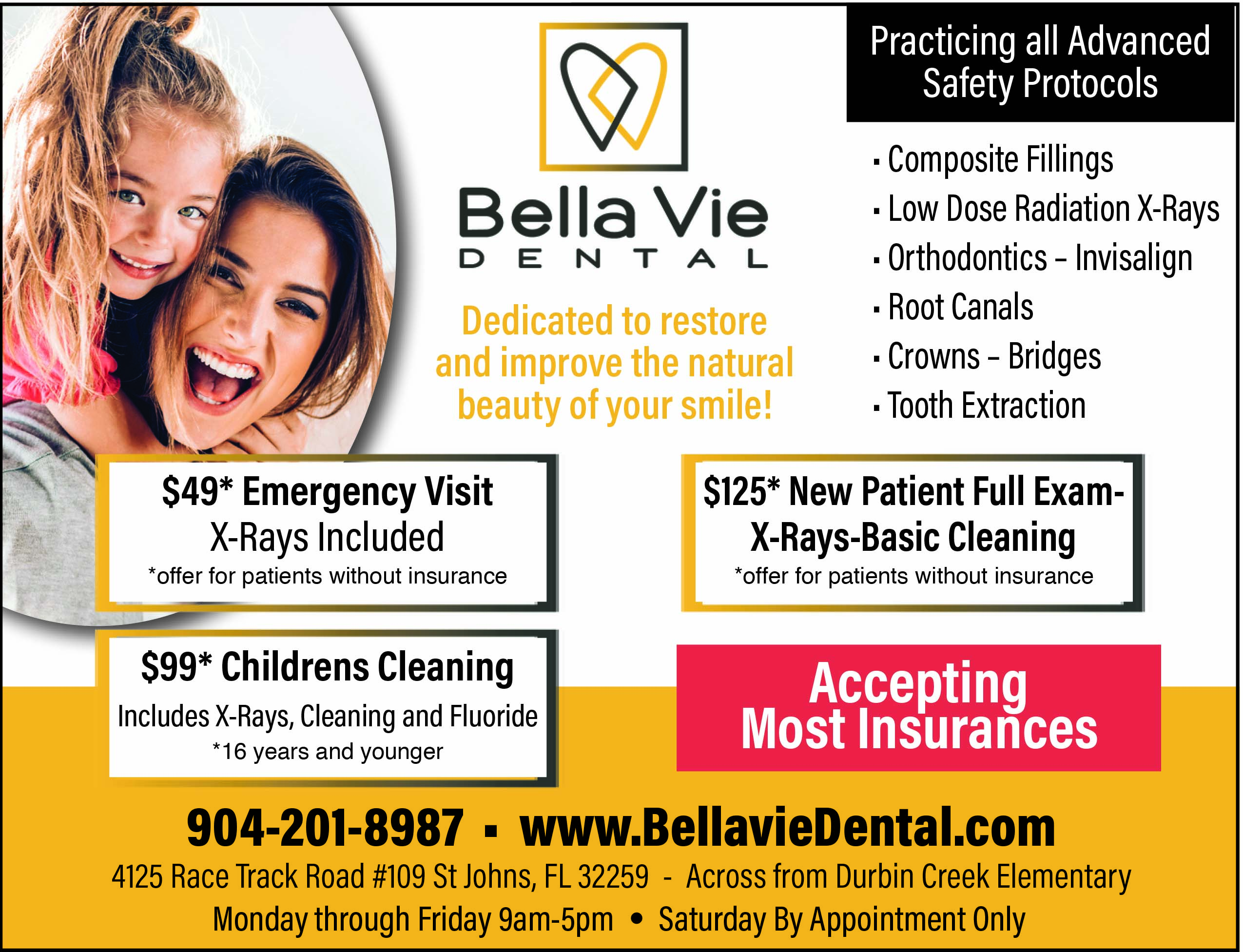 Bella Vie Dental Dedicated to restore and improve the natural beauty of your smile!