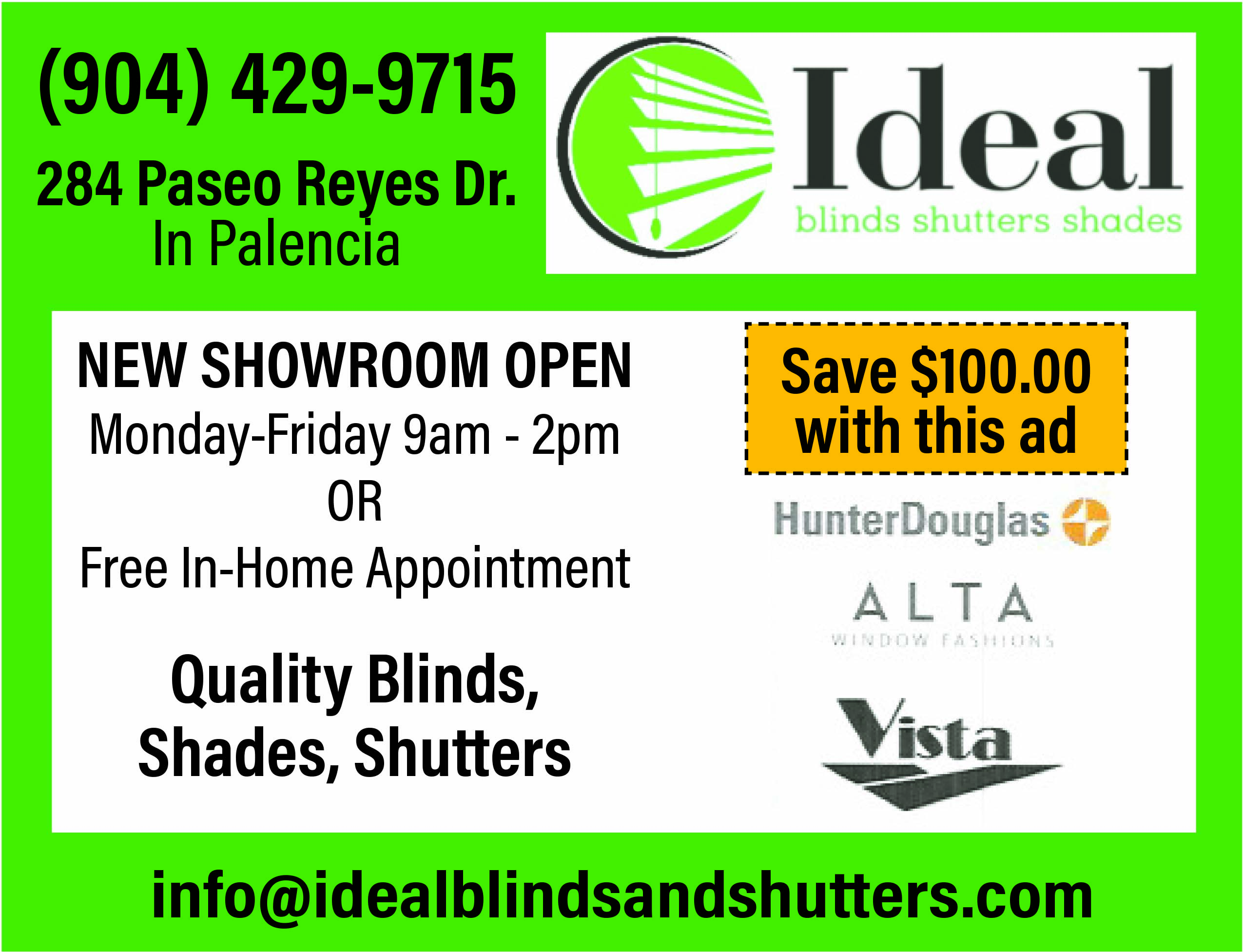 Ideal blinds shutters shade. Quality Blinds, shades, shutters